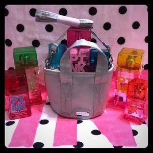 💕VS PINK Soft Sage Mini Bucket Bag NWT💕